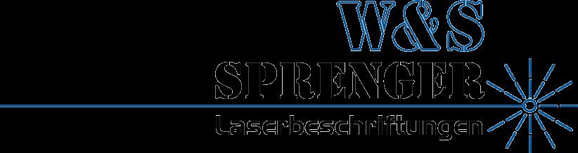 W&S Sprenger – Laserbeschriftungen